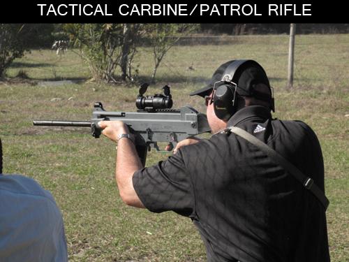 Tactical Carbine/Patrol Rifle