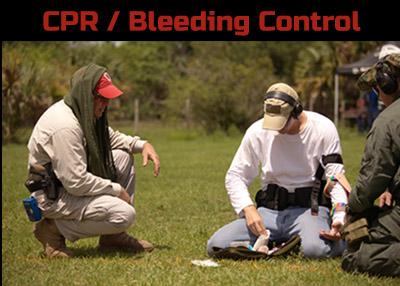CPR / Bleeding Control Course