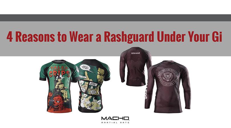 4 Reasons to Wear a Rashguard Under Your Gi