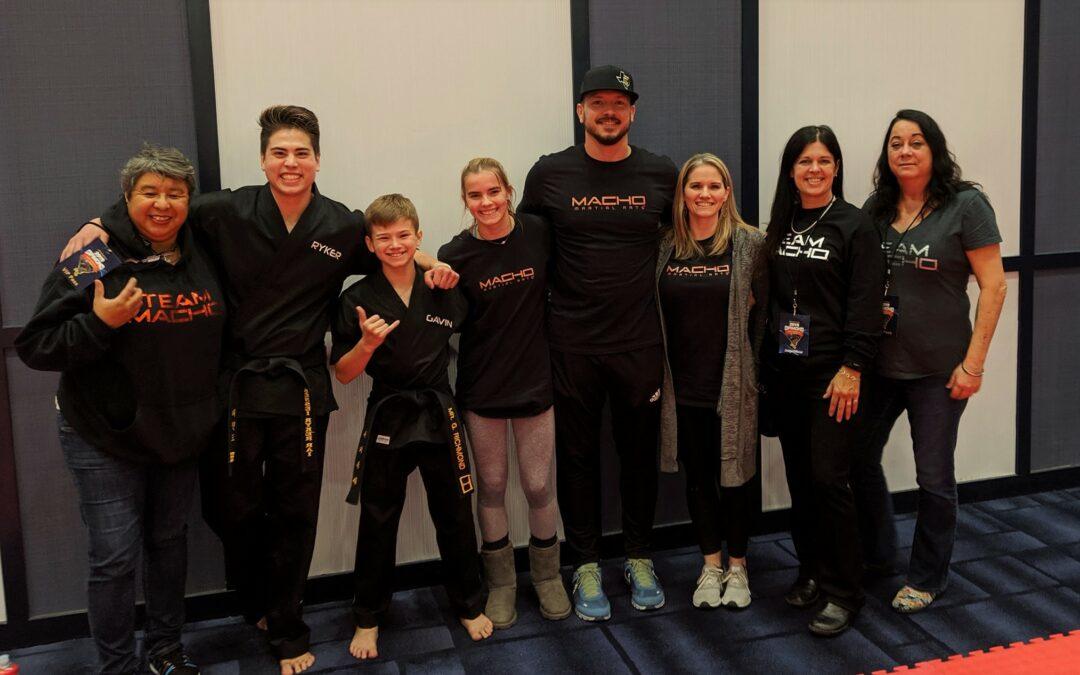 Team Macho at the 2019 Diamond Nationals