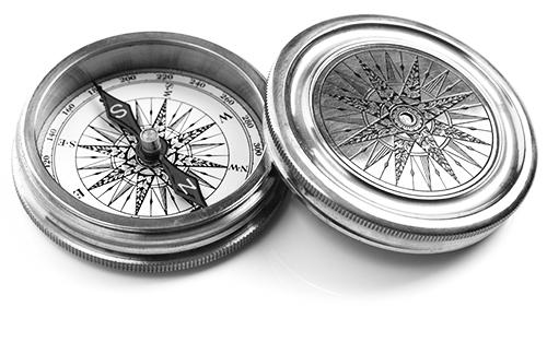 compass_BW