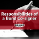 Responsibilities of a Bond Co-signer