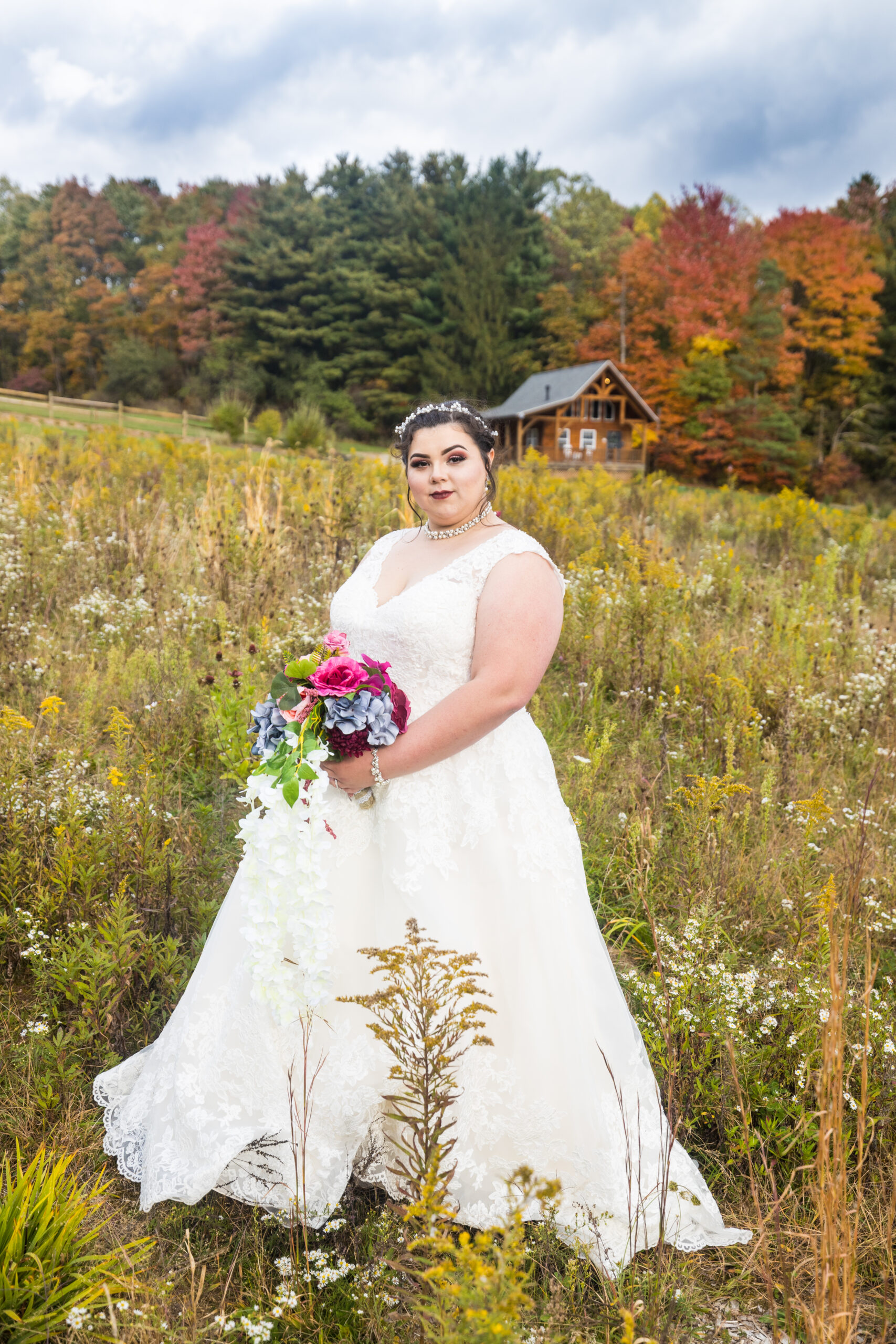 bride in field 2