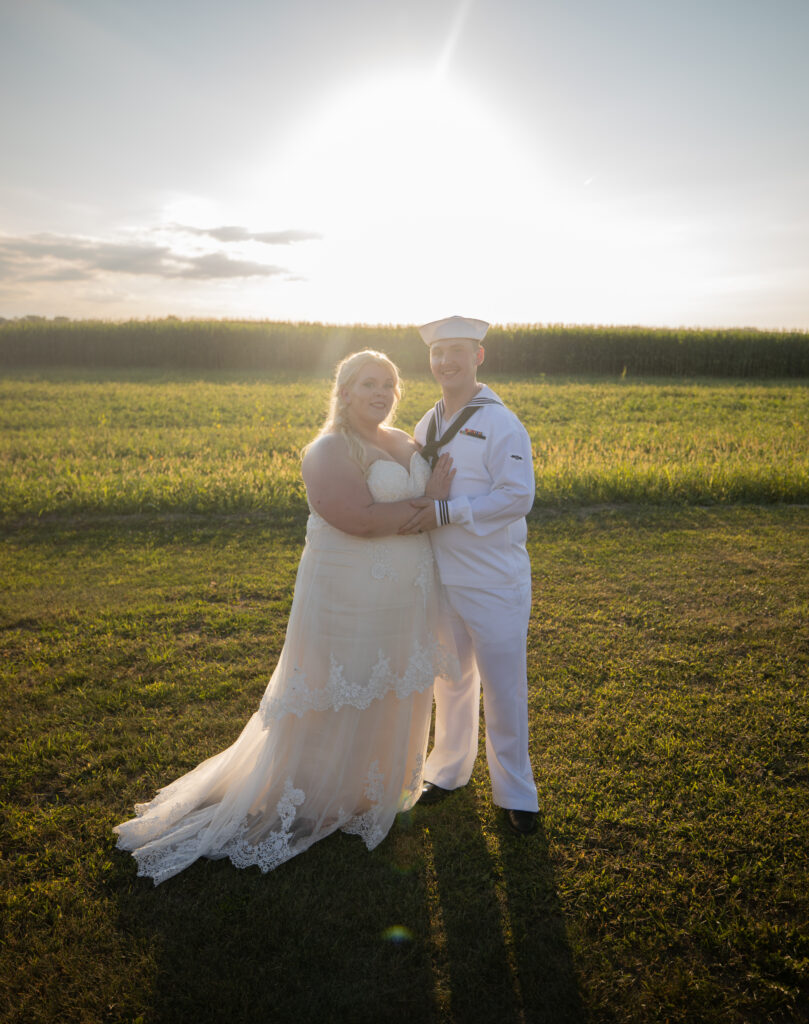 country wedding day