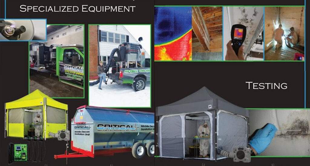 special equipment-mold-asbestos-commercial-clean