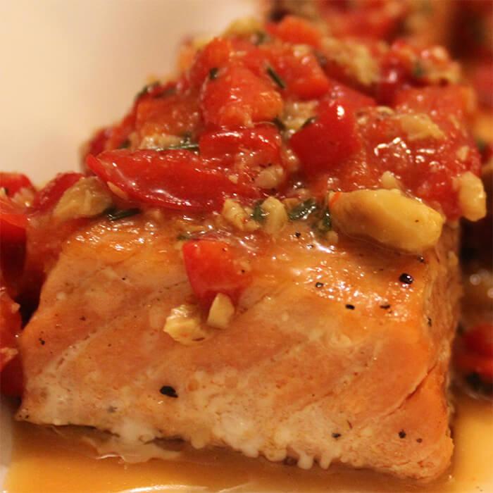 Wild Salmon - Health Chef Julia