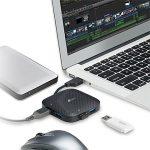 USB 3.0 4-Port Portable Hub