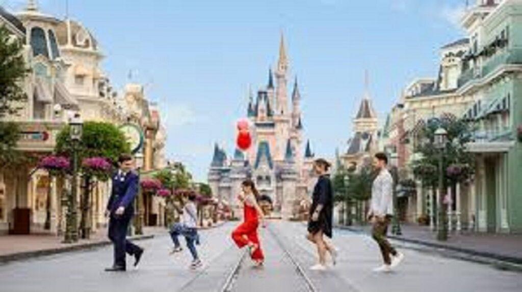 Walking In Disney large 1