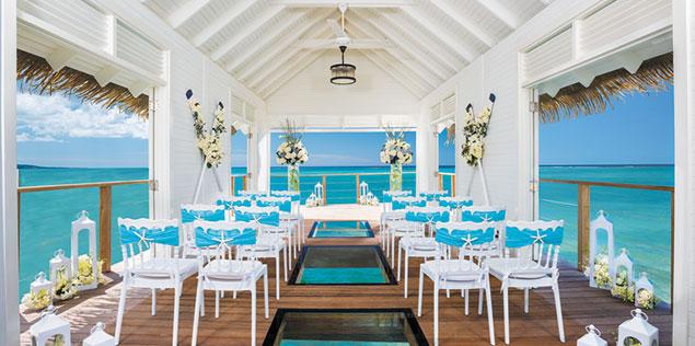 Wedding Chapel Over The Water