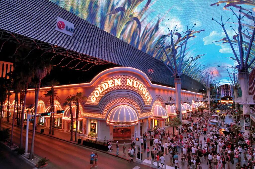 Golden Nugget Light Show