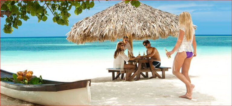 Montego Beach and Couples