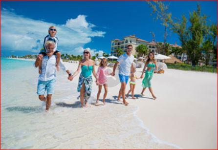 Turks Beaches Family