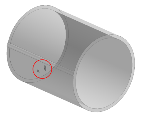 3D CAD model of pipe