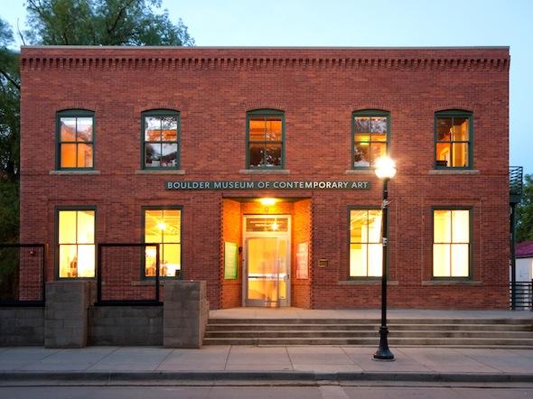 exterior view of the Boulder Museum of Contemporary Art