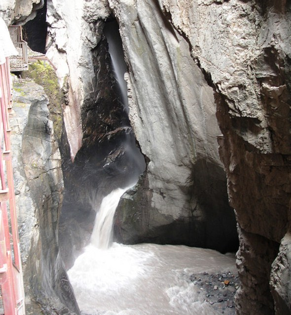 Box Canyon Falls in Ouray
