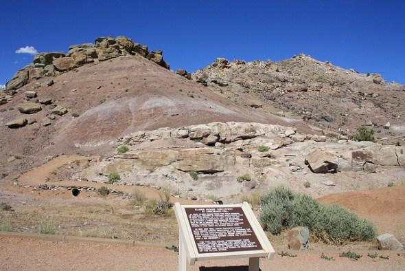 Dinosaur Hill near Fruita