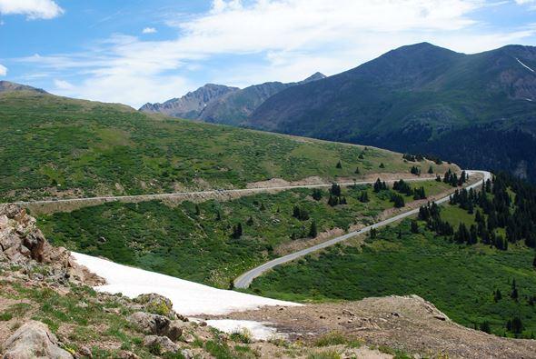 Independence Pass near Aspen