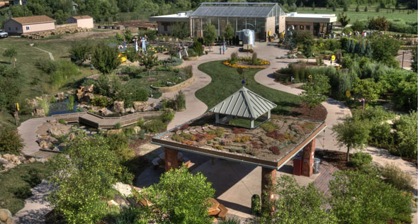 Ft. Collins' community horticulture gardens encourages citizens' to create their own. / Photo from Gardens on Spring Creek