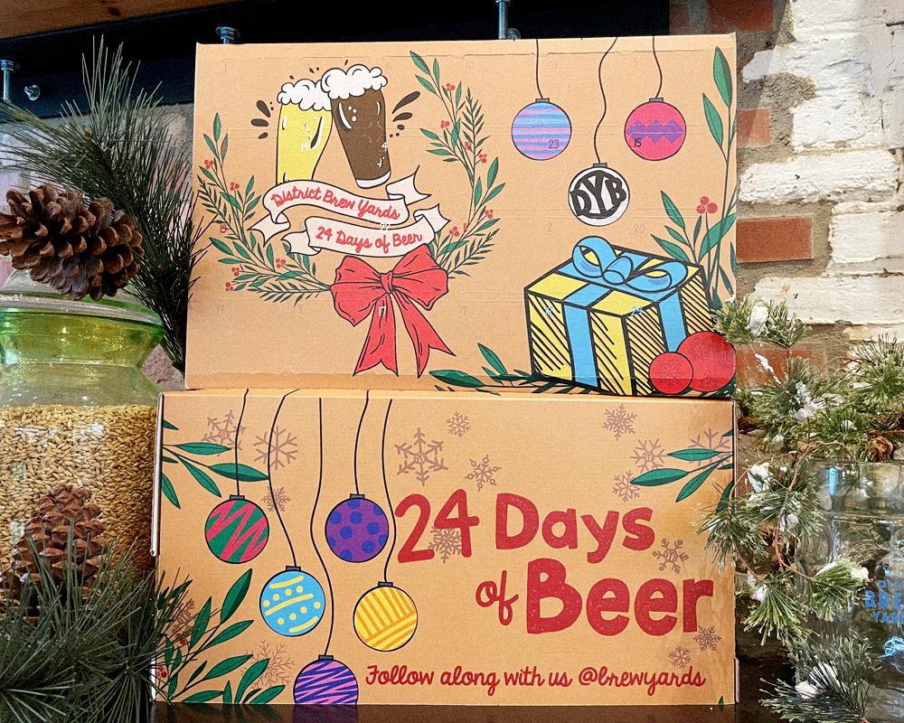 District Brew Yards Beer Advent Calendar