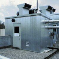 Used 95HP CAT Screw Compressor for sale in Alberta