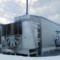 Used 860HP CAT Screw Compressor for Sale in Alberta