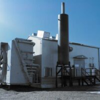 Used 1450HP Four Stage Ariel JGK Compressor with 7042GL-ESM Drive for sale in Alberta