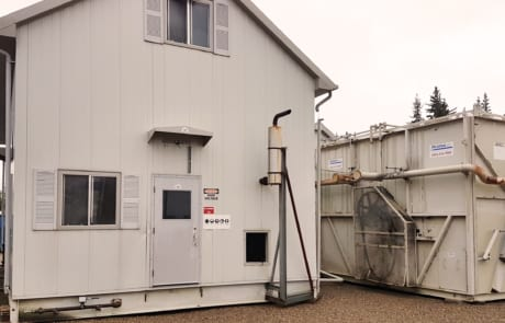 Surplus Used 1 MW 1000 kW Natural Gas Generator for sale in Alberta Canada