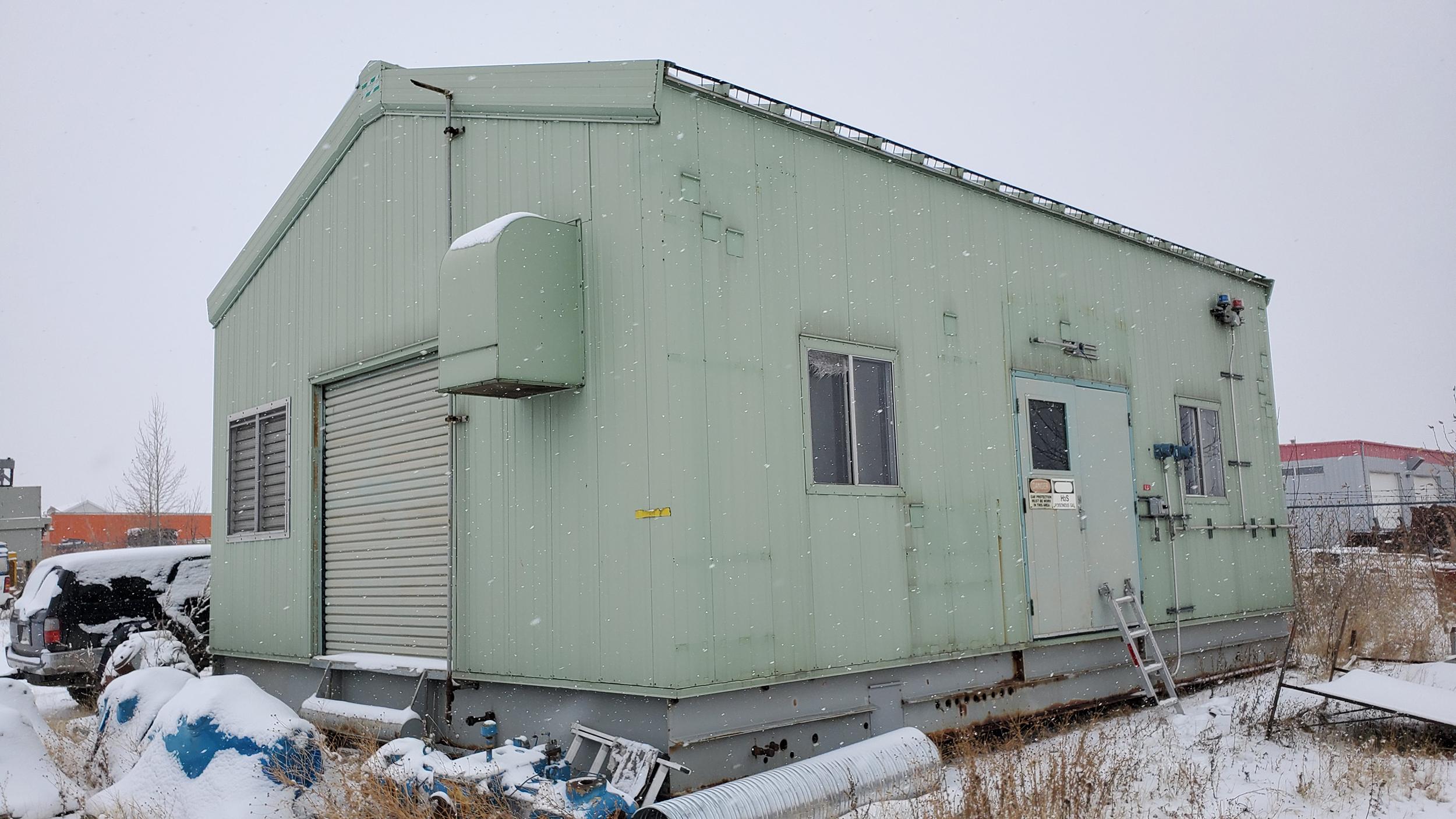 800HP 22% Sour Electric Reciprocating Compressor - exterior 1