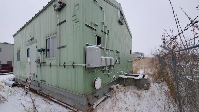 800HP 22% Sour Electric Reciprocating Compressor - exterior 3