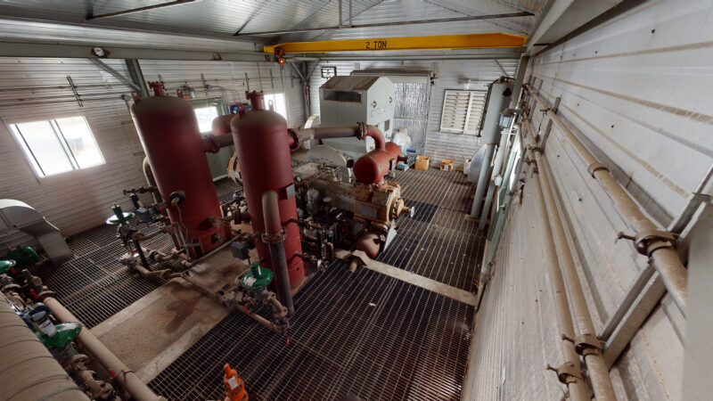 800HP 22% Sour Electric Reciprocating Compressor - interior 4