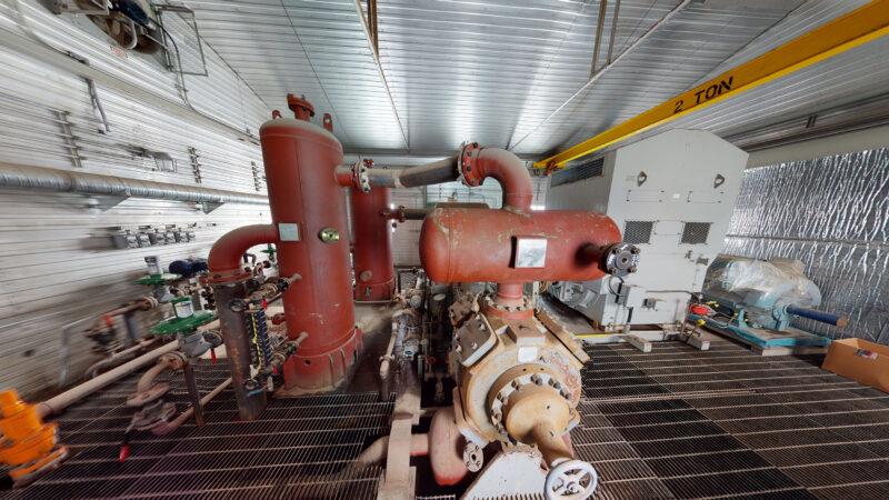 800HP 22% Sour Electric Reciprocating Compressor - interior 5