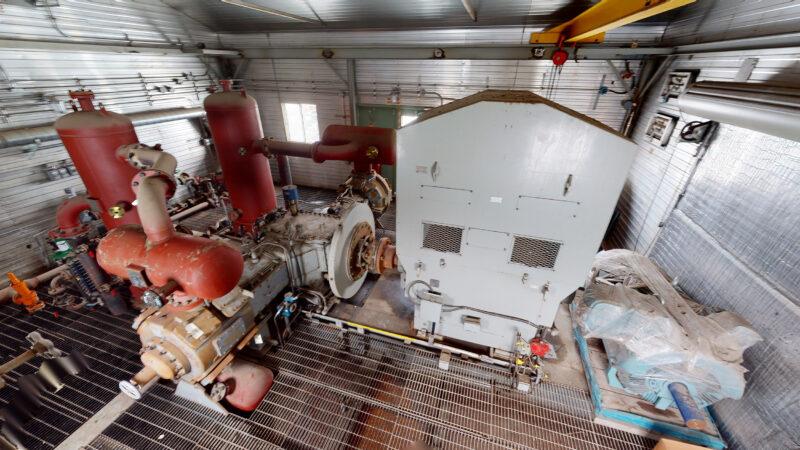 800HP 22% Sour Electric Reciprocating Compressor - interior 8