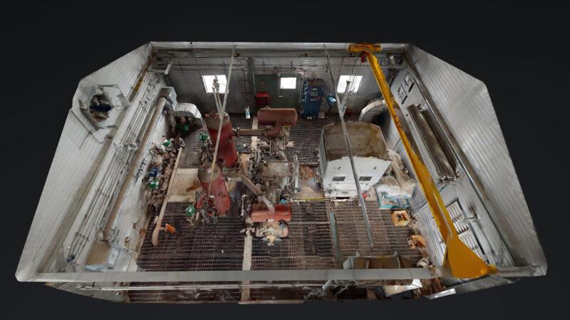 800HP 22% Sour Electric Reciprocating Compressor - interior 18
