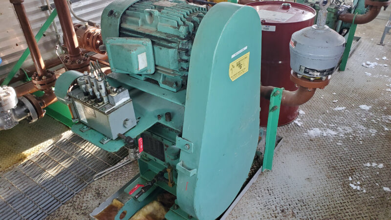 Twin 25HP Condensate Pump Package interior 8