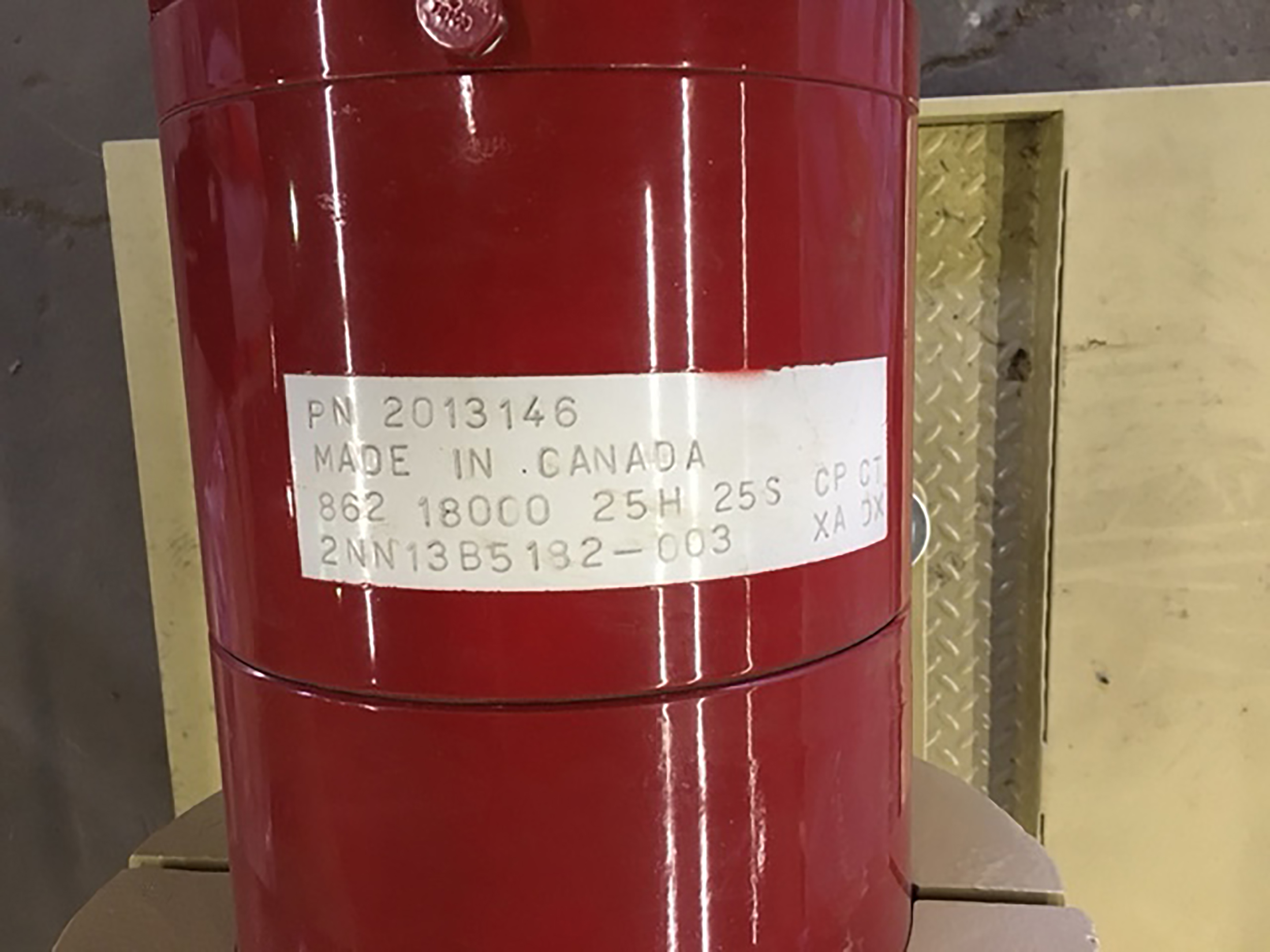 Borets name plate - Never used –Two (2x) 700HP Centrifugal Multi-stage Bare Borets Pumps & Motors + Full Packaging Option for sale in Edmonton Alberta