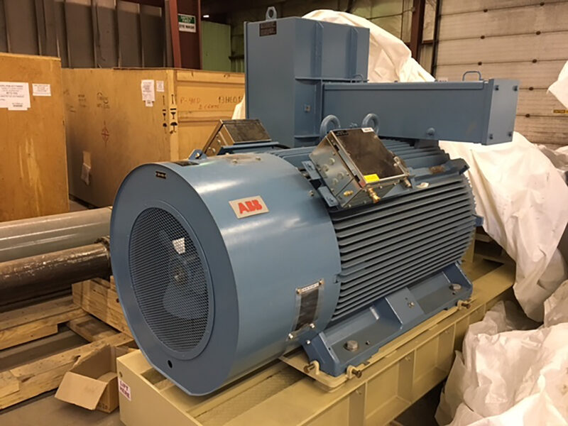 ABB motor 3 - Never used –Two (2x) 700HP Centrifugal Multi-stage Bare Pumps & Motors + Full Packaging Option for sale in Edmonton Alberta