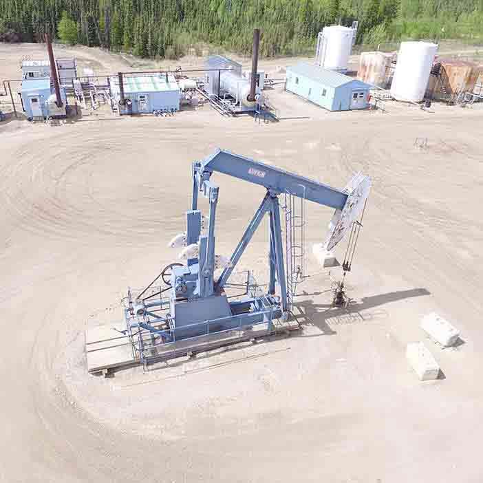 Project – Conversion of Compressor to Multi-stage Centrifugal Pump - oilfield oil and gas equipment for sale in Alberta Canada