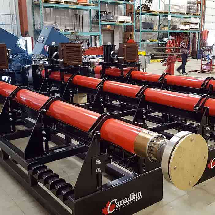 Project –Horizontal Multi-stage Centrifugal Pumps for Dragon Oil - oilfield oil and gas equipment for sale in Alberta Canada