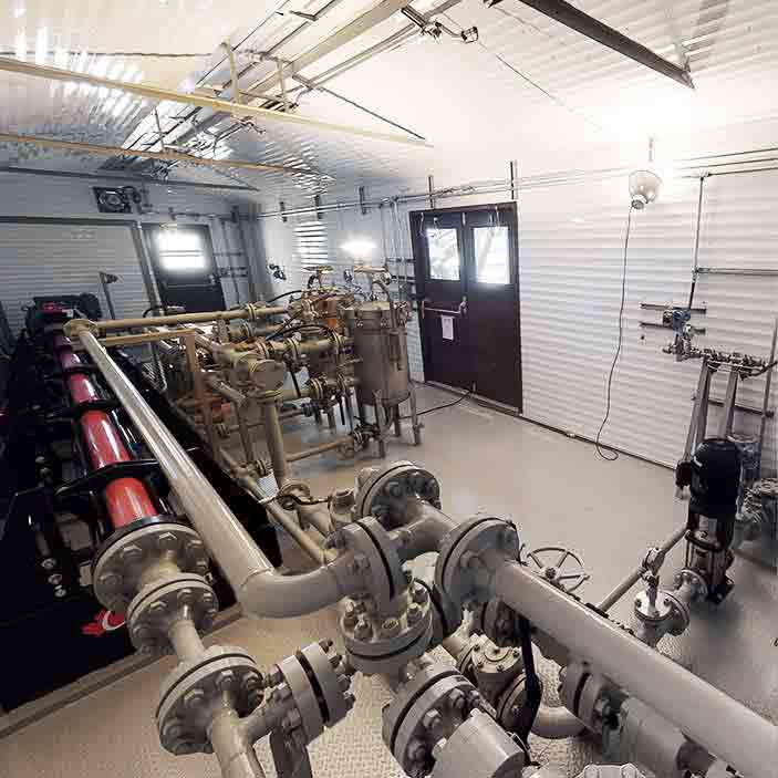 Project – Karve Energy pump package skid system - oilfield oil and gas equipment for sale in Alberta Canada