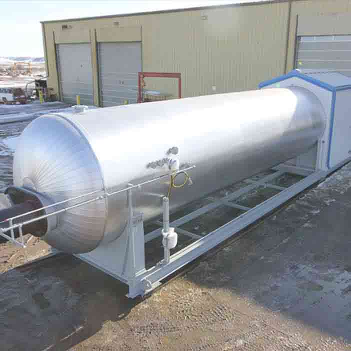 Project – Horizontal Treater Joint Venture - oilfield oil and gas equipment for sale in Alberta Canada