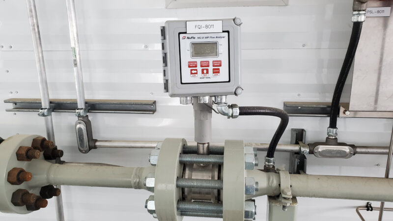 Interior 5 –150HP Weatherford W165 H fluid end W165H Jet Pump Packages for sale in Alberta Canada used surplus oilfield oil and gas energy equipment