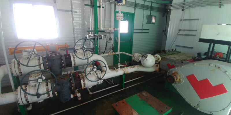 Interior 1 - Used and New 300HP Weatherford Jet Pump Packages for sale in Grande Prairie Alberta Canada surplus oilfield oil and gas energy equipment