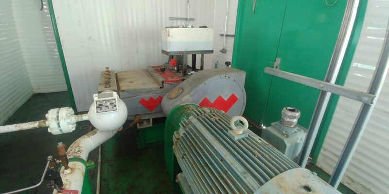 Interior 2 - Used and New 300HP Weatherford Jet Pump Packages for sale in Grande Prairie Alberta Canada surplus oilfield oil and gas energy equipment