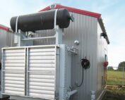 Exterior New / Never Used 95HP Caterpillar Vacuum Reciprocating Compressors For Sale in Alberta Canada