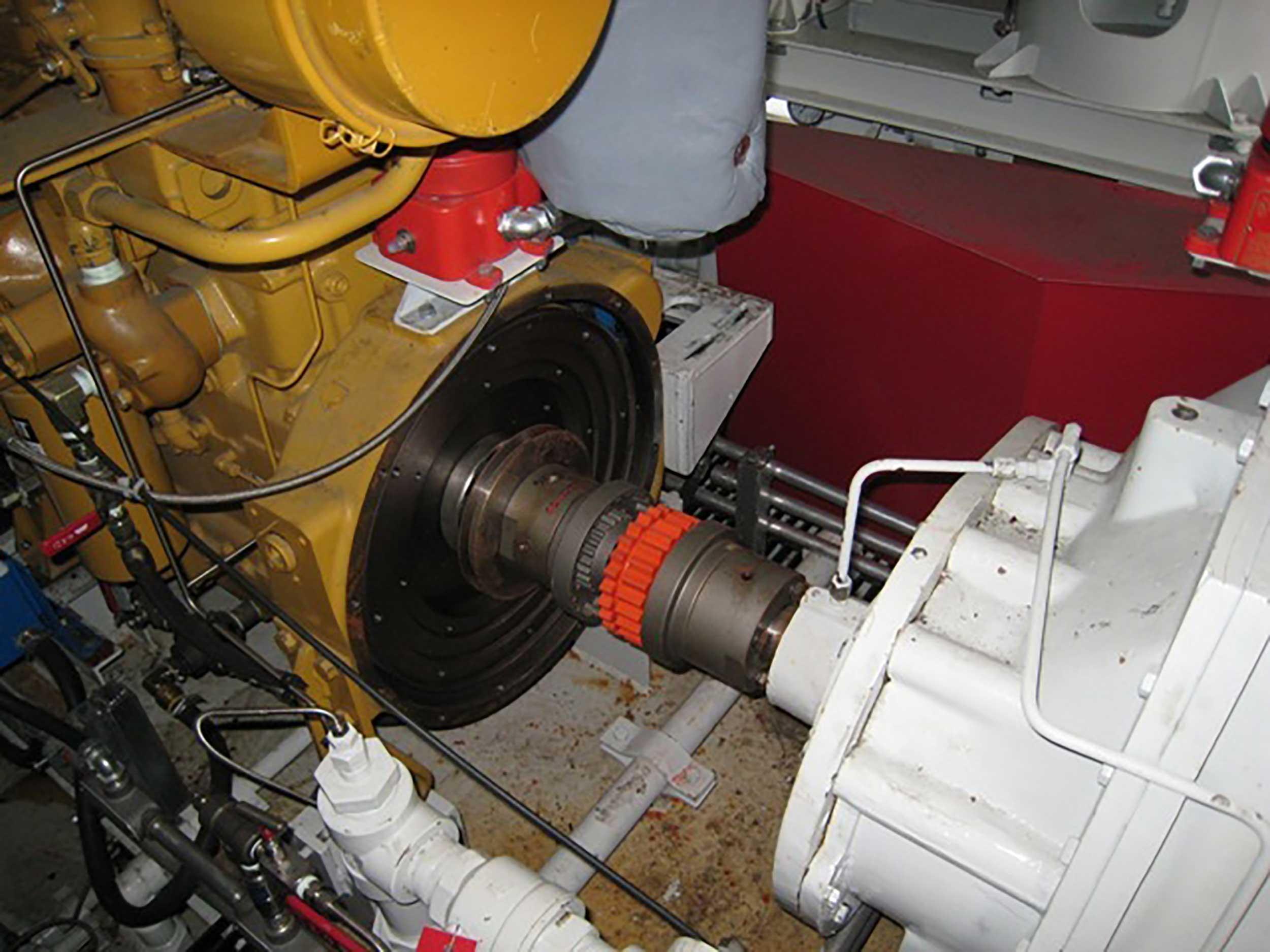 Interior 4 New / Never Used 95HP Caterpillar Vacuum Reciprocating Compressors For Sale in Alberta Canada