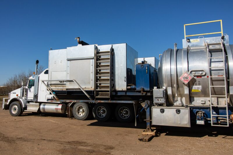 New and Used 38 MMBTU Fracking / Frac Water Heaters for sale in Calgary Alberta Canada surplus, used, new frac equipment fracking equipment oilfield energy oil and gas 3
