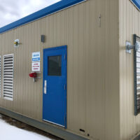 Used 400kW CAT G3412TA / Stamford HCI432F1 Generator for sale in Alberta Canada Behind the fence power surplus oilfield energy equipment 1