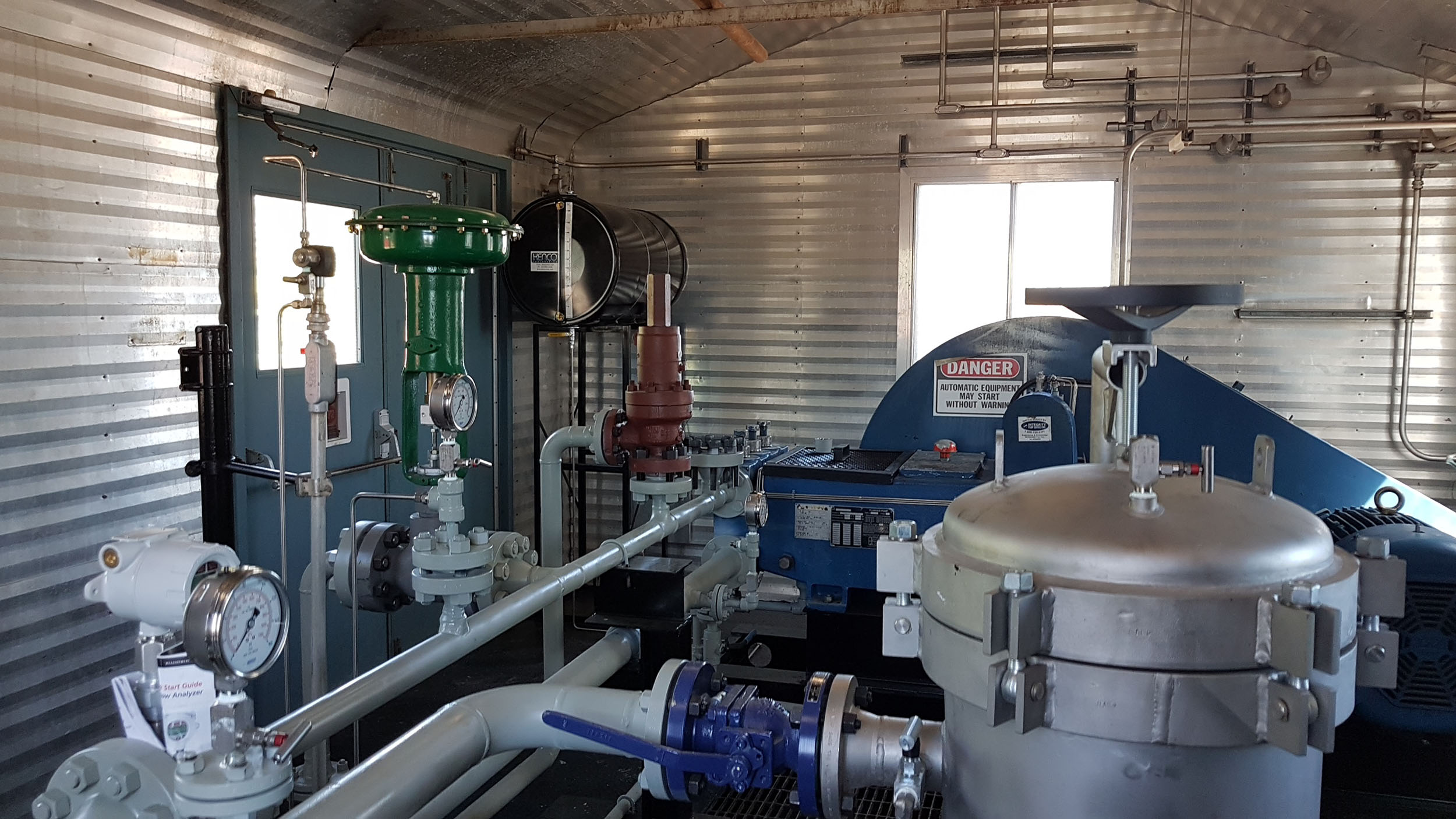 Used surplus 100HP National 100T-4M Full Sour Triplex Pump Package for sale in Fox Creek Alberta Canada oilfield oil & gas energy production equipment 5