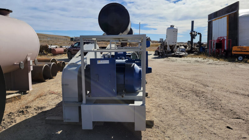 New / Never-used 300HP National 300Q-5M Unitized / Mini Skid Pumps for sale in Alberta Canada surplus oilfield oil and gas equipment 4