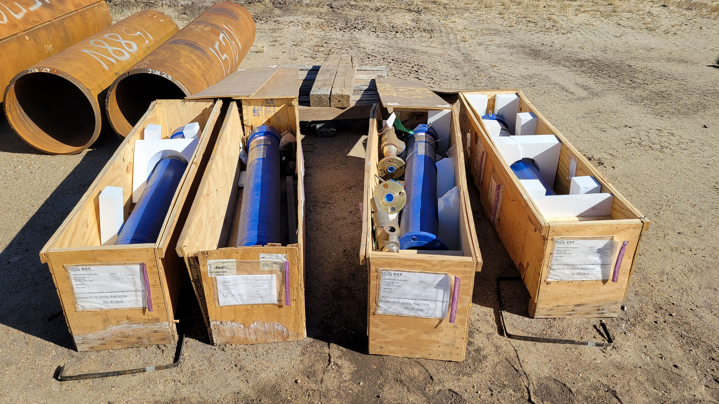 New / Never-used 300HP National 300Q-5M Unitized / Mini Skid Pumps for sale in Alberta Canada surplus oilfield oil and gas equipment 10